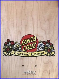Guzman Santa Cruz skateboard deck