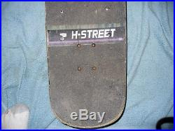 H-Street Skateboard Alphonzo Rawls Energizer Bunny Superslim Santa Cruz Used
