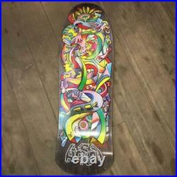 HOSOI & SANTA CRUZ Collaboration Picasso Skateboard Deck FedEx DHL