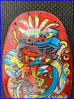 Hosoi Picasso skateboard deck 1987 vintage Santa Cruz
