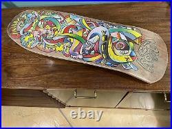 Hosoi reissue picasso santa cruz skateboard