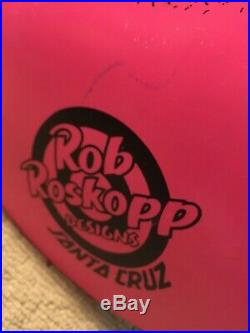 Hot Pink Rob Roskopp Face Drip Santa Cruz Skateboard Deck- Reissue