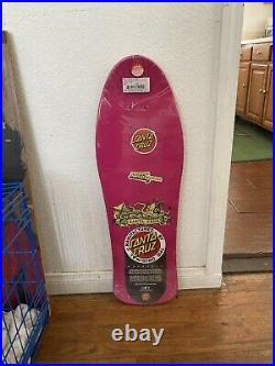 Jason Jesse Neptune Santa Cruz Skateboard Reissue