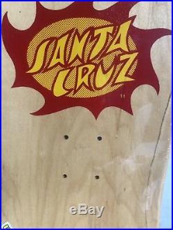 Jason Jesse Neptune Skateboard Deck Santa Cruz