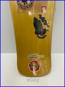 Jason Jessee Guadalupe Santa Cruz Skateboard Deck Reissue Yellow Style Rare