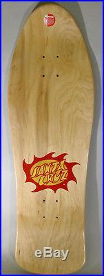 Jason Jessee Neptune 2 Santa Cruz skateboard deck hand screened signed reissue