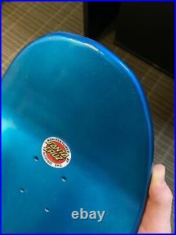 Jason Jessee Santa Cruz Neptune Reissue Skateboard Deck Rare Paint Fade