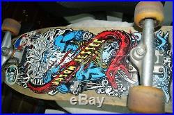 Jason Jessee Santa Cruz Vintage Neptune Skateboard Hard To Find