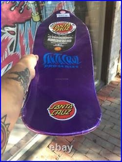 Jason jessee sungod reissue santa cruz skateboard nos