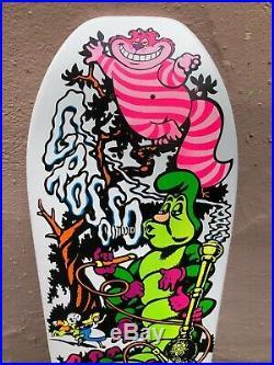 Jeff Grosso C&D Skateboard Alice Cease Desist Santa Cruz NOS Natas Antihero