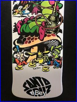 Jeff Grosso C&D Skateboard Alice Cease Desist Santa Cruz NOS Natas SMA Kendall