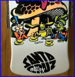 Jeff Grosso C&D Skateboard Deck Alice Cease and Desist Santa Cruz AP/100 NEW