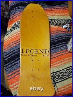 Jeff Grosso Cease & Desist Ap/100 Alice In Wonderland Santa Cruz Skateboard