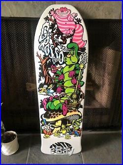 Jeff Grosso Cease & Desist Skateboard Alice C&D NOS Santa Cruz Natas Anti Hero