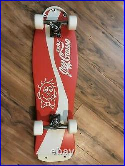 Jeff Grosso Coca Cola Tribute Complete Skateboard by Britton Boards with G-Bones