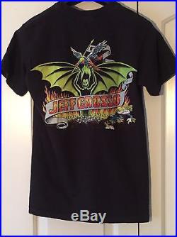 Jeff Grosso Demon Santa Cruz Rare Vintage Grail Skateboard Tee Shirt Anvil