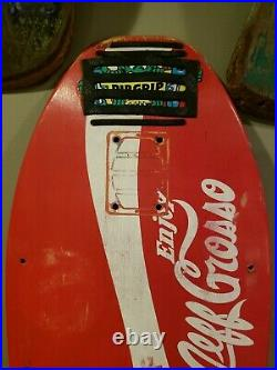 Jeff Grosso skateboard deck enjoy Santa Cruz vintage