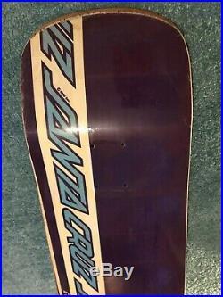 Jeff Kendall Everslick Santa Cruz OG Skateboard Powell Peralta Natas Slick Deck