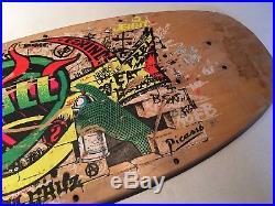 Jeff Kendall Graffiti Vintage Santa Cruz Skateboard Deck