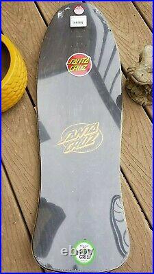 Jeff Kendall Pumpkin Santa Cruz Reissue Pro Series Skateboard Deck Jim Phillips