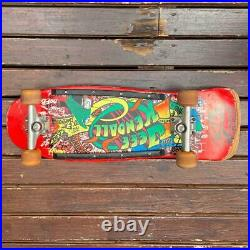 Jeff Kendall Santa Cruz Skateboard Deck Vintage From 1986 Extremely Rare Used