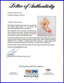 Jim Phillips 11x14 ORIGINAL ART The Screaming Hand Sketch Santa Cruz Skate Logo