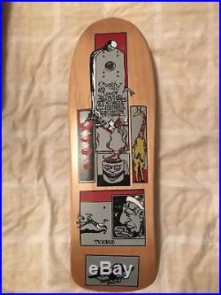 Jim Thiebaud Sanity SMA Santa Cruz Skateboard Original Not A Reissue