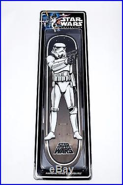 LTD 1st SERIES Santa Cruz Skateboards Star Wars Stormtrooper Blister Pack Deck