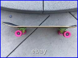 Limited 500th Episode Bart Simpson Santa Cruz Complete Skateboard RARE