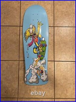 Limited Edition Bart Simpson x Santa Cruz Skateboard Deck 500th Episode
