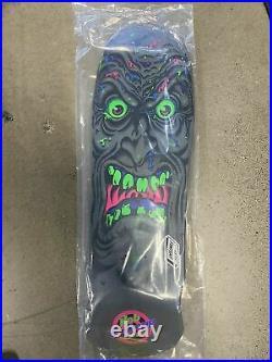 Limited SANTA CRUZ BLACKLIGHT Rob Roskopp Skateboard Deck Jim Phillips Reissue