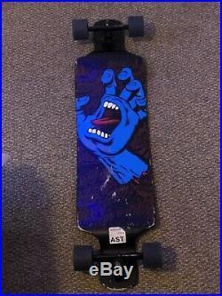 Longboard Santa Cruz Screaming Hand Skateboard