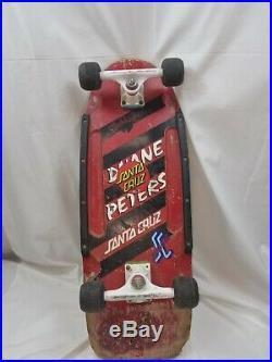 Lot of 3 Vintage Skate Boards, SIMS, Santa Cruz, Skaterbuilt