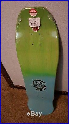 Ltd Rob Roskopp Face BLUE/GREEN Fade Skateboard deck Very Rare