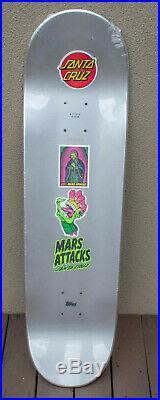 Mars Attacks Divine Heritage Deck Santa Cruz Skateboard NOS in Shrink