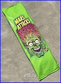Mars Attacks NEW in package Sealed Santa Cruz Skateboard Blind Variant
