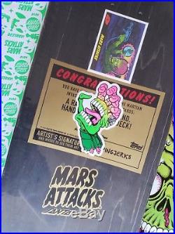 Mars Attacks Santa Cruz Artist Series, 1 of a kind