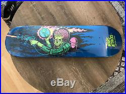 Mars Attacks Santa Cruz Skateboard Deck Sparkle Reaper