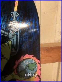 Mars Attacks Skateboard Deck Santa Cruz