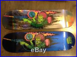 Mars attacks 5 skateboards santa cruz limited edition skateboard deck