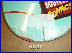 Marvel X Santa Cruz Spiderman Screaming Hand Skateboard Deck Rare