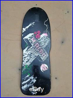 Mickey Alba Santa Cruz Vintage Tombstone MALBA skateboard