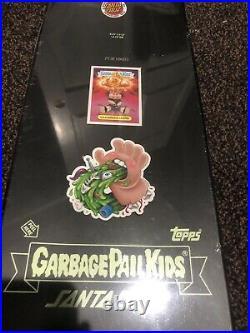 NEW Garbage Pail Kids Santa Cruz Skateboard Deck Nuclear Glow Adam Bomb No Bag