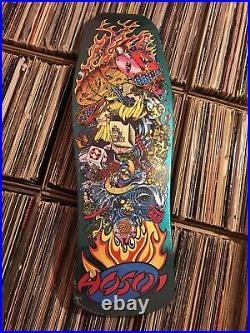 NEW Hosoi Collage Candy Mint Reissue Skateboard Santa Cruz Skate Deck 10x30 HTF