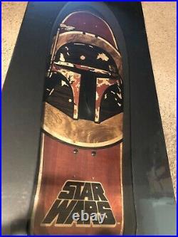 NEW Santa Cruz x Star Wars Inlay Skateboard Deck Boba Fett Limited Edition