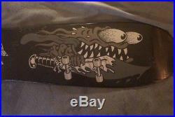 NOS 2006 SANTA CRUZ SLASHER Skateboard Deck in shrink Keith Meek Ashes To Ashes