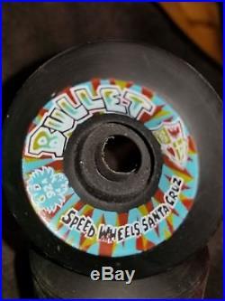 NOS 80's SANTA CRUZ BULLET SKATEBOARD WHEELS