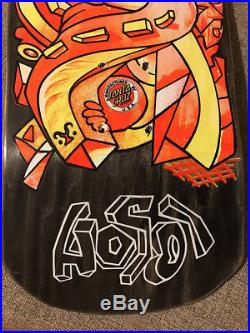 NOS Christian Hosoi Picasso Skateboard deck. Vintage Santa Cruz. Not a reissue