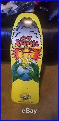 NOS Jeff Kendall SANTA CRUZ 86 SKATEBOARD Reissue powell peralta hosoi alva