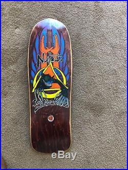 NOS Natas Crazy Cat SMA Santa Cruz 101 Vintage Skateboard Deck Kaupas